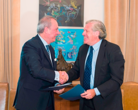 OAS and White Helmets Sign Agreement Ren